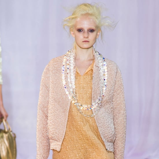 Rochas Spring 2014: Pretty in Pink (Blue, Green, and Yellow, Too!)