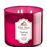 Cranberry Woods candle ($25)