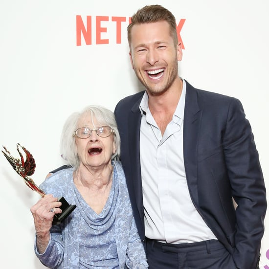 Is Glen Powell's Grandma in Set It Up on Netflix?