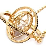 Spinning Time Turner Necklace ($13)