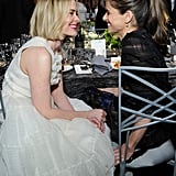 Sarah Paulson and Amanda Peet looked at each other adorably at the SAG Awards.