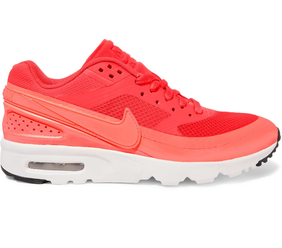 Nike Air Max BW Ultra Mesh and Leather Sneakers