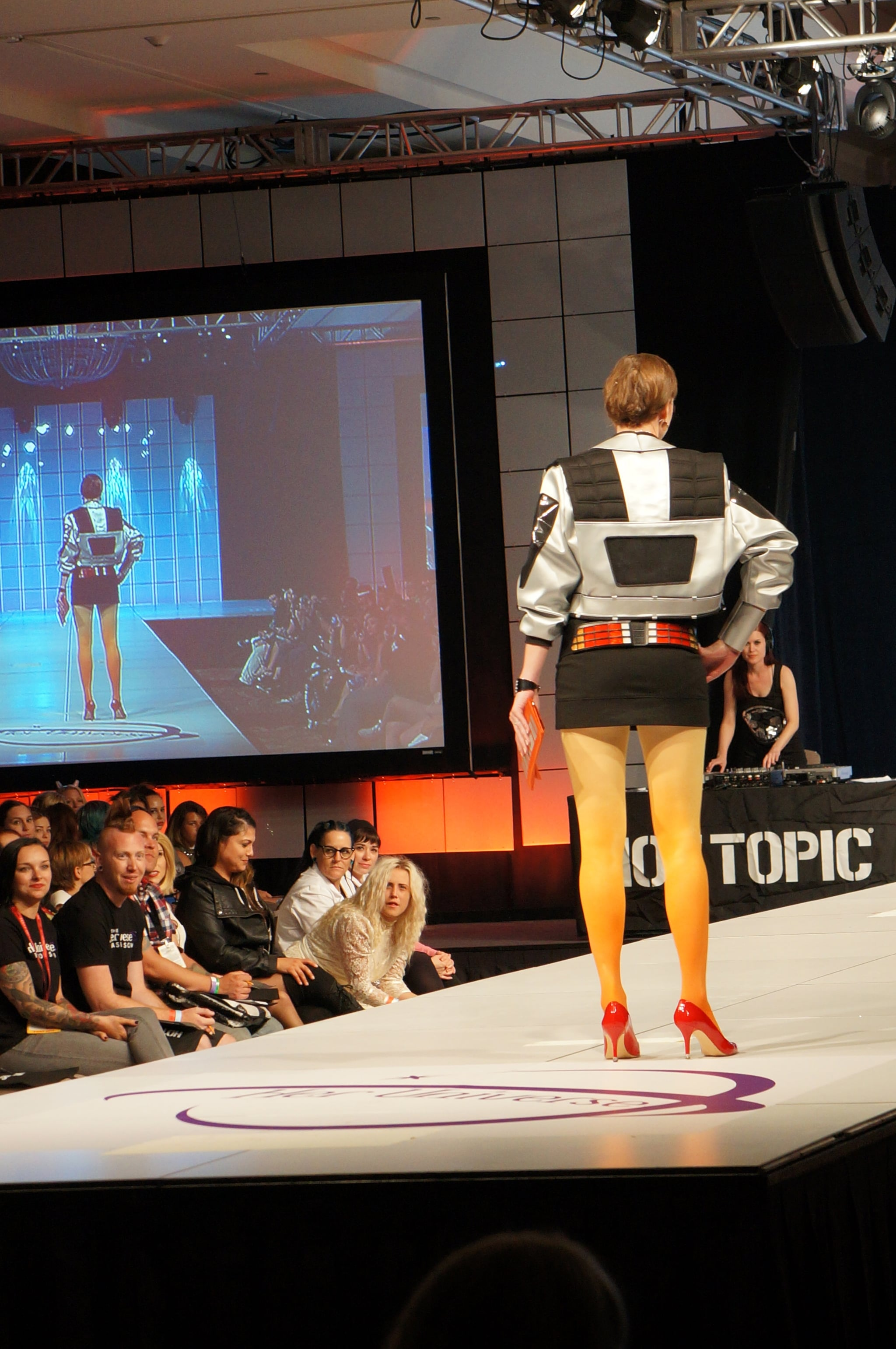 This outfit won the competition! Photo: Nicole Nguyen