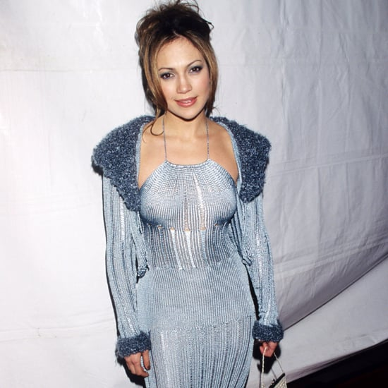 Jennifer Lopez's First Grammys Dress