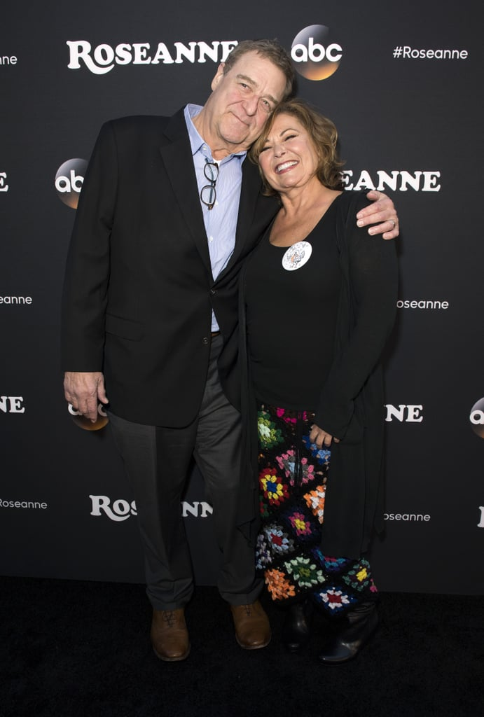 """It's been over 20 years since Roseanne came to an end, but Roseanne Barr (Roseanne Conner) and John Goodman (Dan Conner) are still as close as ever. Not only are they both returning for the Roseanne reboot, but in 2012, they also starred together on NBC's Downwardly Mobile. Aside from their professional relationship, John recently told AARP that he and Roseanne """"hit it off immediately"""" when they first met 30 years ago because of their """"similar senses of humor."""" He also said that it """"always felt like family when they were working."""" We certainly can't wait to see Roseanne and John back on the screen together!      Related:                                                                                                           In Case You Were Wondering How Old Roseanne Barr Is . . ."""