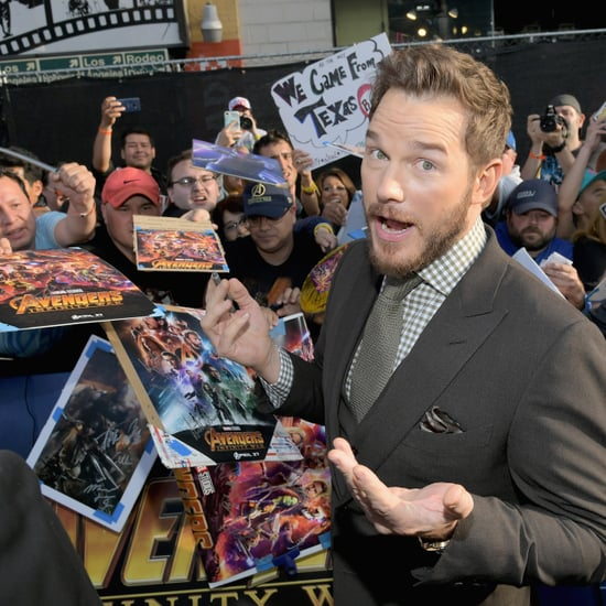 Chris Pratt Talking About Son's Favorite Marvel Hero 2018