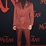 Yoson An at the World Premiere of Mulan in LA
