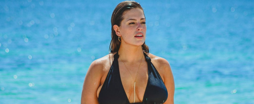 Ashley Graham Works Her Curves on the Beach in Cancun