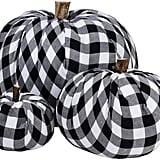 Burlap Fabric Pumpkins