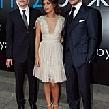 Mila Kunis walked the red carpet with her costar Justin Timberlake and director Will Gluck.