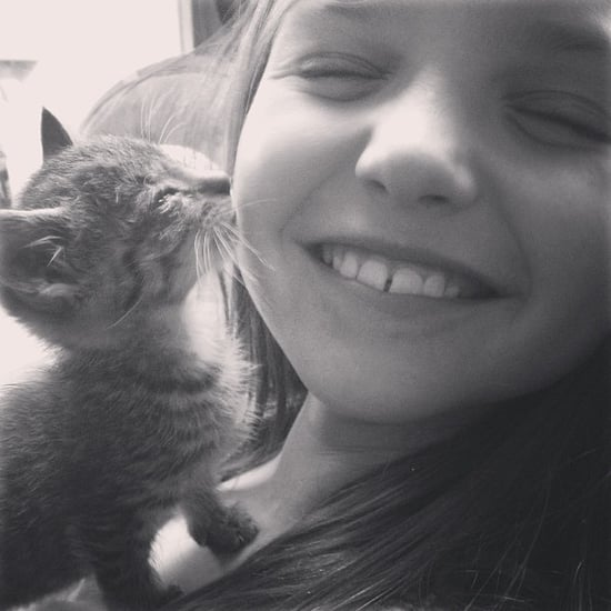 Cute Kid and Cat Pictures