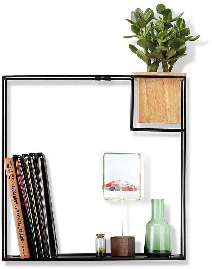 Large Cubist Wall Shelf ($50)