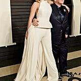 Pictured: Elton John and Lady GaGa