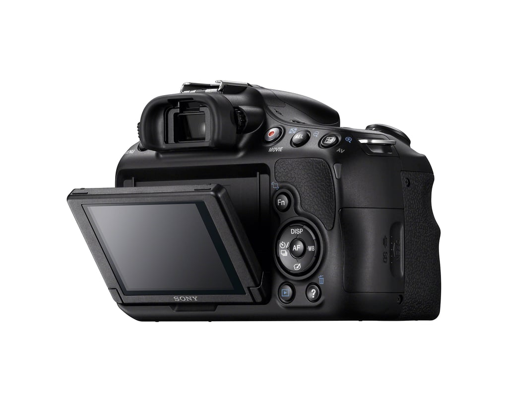 The A58 has an OLED electronic viewfinder.