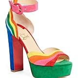 Shop Taylor's Exact Rainbow Heels