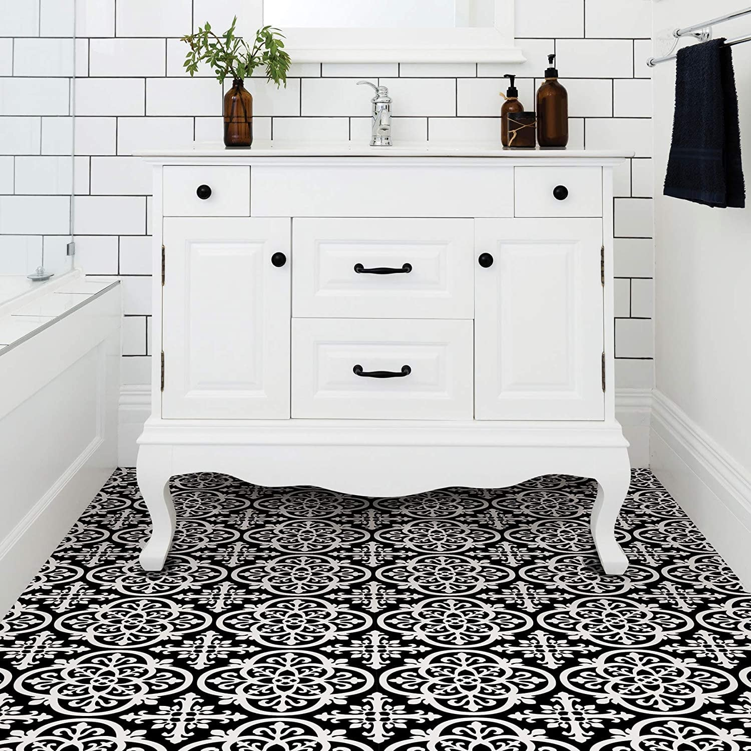 Upgrade Your Apartment Using Peel And Stick Floor Tiles Popsugar Home