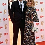 Jeff Hordley and Zoe Henry