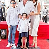 Simon Cowell and His Family