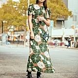 Anna Sui Floral Maxi ($594)
