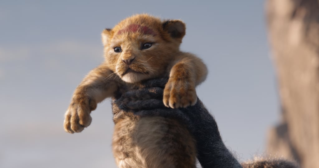 "Get ready, because Disney's The Lion King reboot is about to flood you with so much nostalgia. In addition to getting the first full-length trailer — which includes appearances from Nala, Scar, Timon, and Pumba — we also have some photos to fawn over. In one shot, we see young Simba being held up in the iconic ""Circle of Life"" scene, and in another, we him alongside his father on top of the hill. Of course, it's the colourful poster of the father-son duo that really has us in our feelings. It looks so similar to the original! Get a glimpse of the live-action movie in all its glory ahead.       Related:                                                                                                           The Lion King: The First Flawless Footage of Beyoncé's Nala Has Arrived"