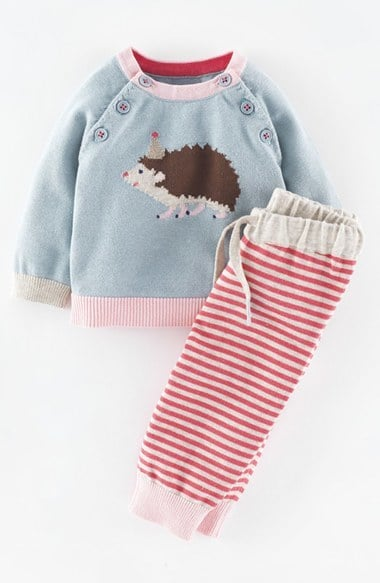 Mini Boden Knit Sweater & Pants