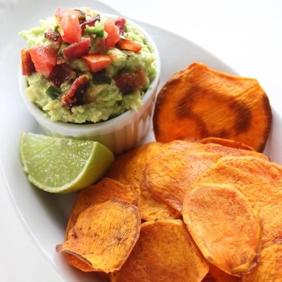 Healthy Sweet Potato Chips Recipe