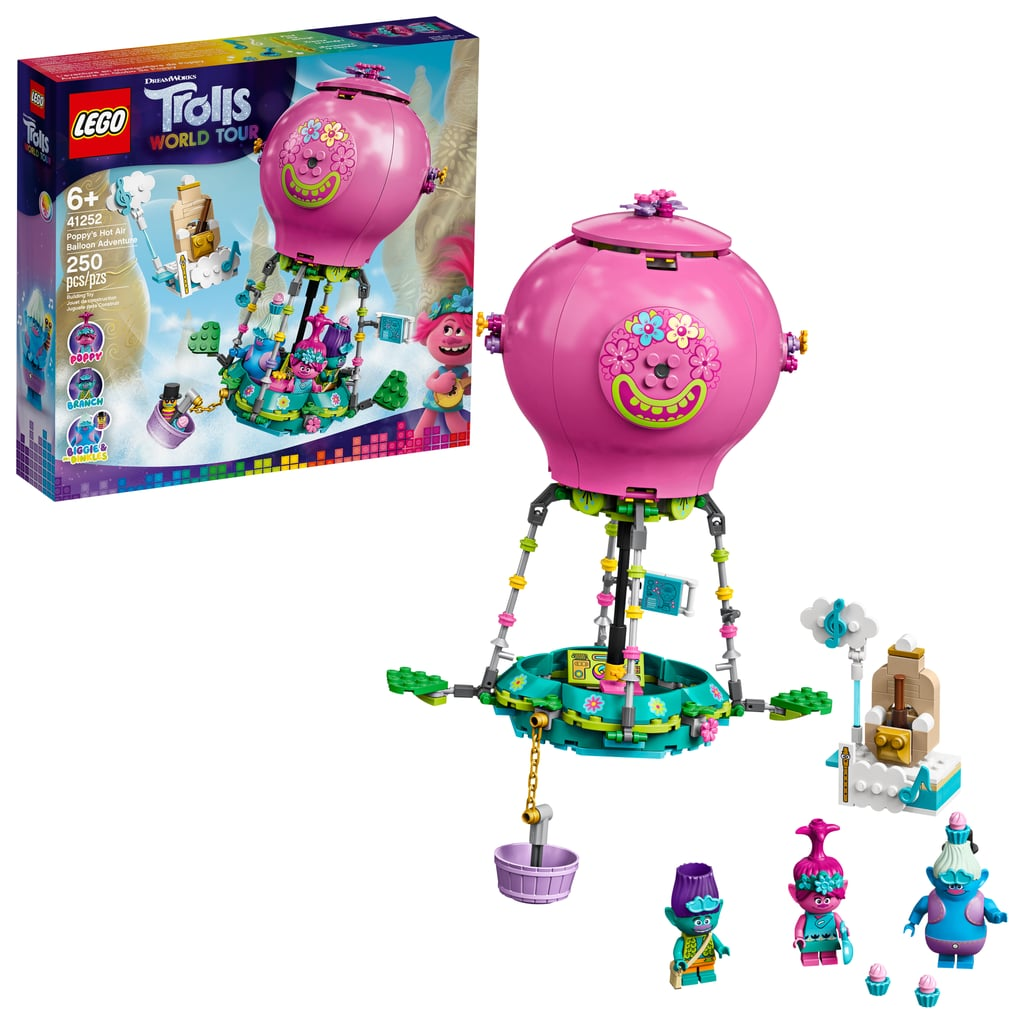 Lego Trolls World Tour Poppy's Hot Air Balloon Adventure ...