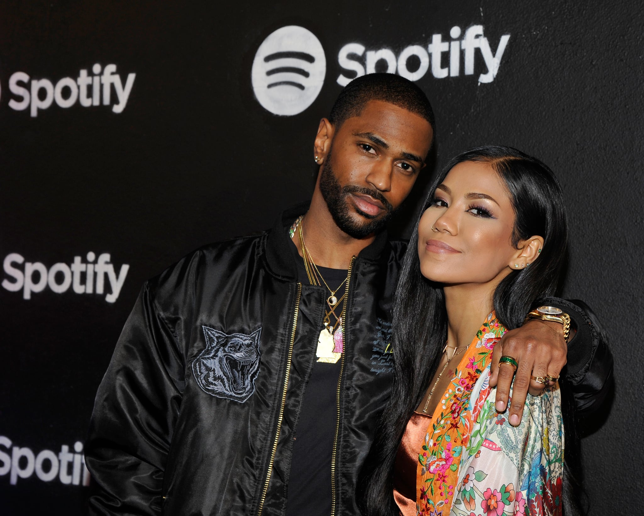 LOS ANGELES, CA - FEBRUARY 09:  Rapper Big Sean and singer Jhene Aiko attend the Spotify Best New Artist Nominees celebration at Belasco Theatre on 9, 2017 in Los Angeles, California.  (Photo by John Sciulli/Getty Images for Spotify)