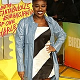 Clara Amfo at the Birds of Prey World Premiere in London