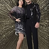 Nancy McKeon and Val Chmerkovskiy