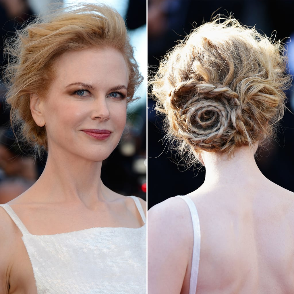 celebrity beauty nicole kidman 39 s hair makeup at cannes popsugar beauty australia. Black Bedroom Furniture Sets. Home Design Ideas