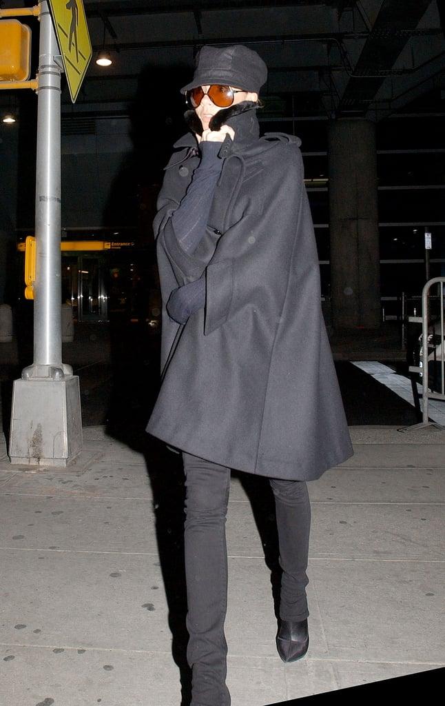 Or, Go Incognito in a Black Coat
