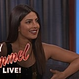 She Chatted With Jimmy Kimmel About Her Met Gala Gown