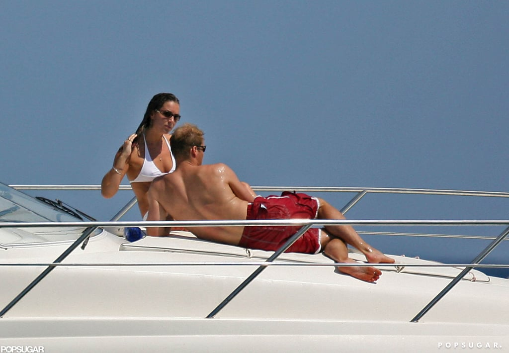 William and Kate broke out their swimsuits for a vacation in Ibiza during the Summer of 2006.