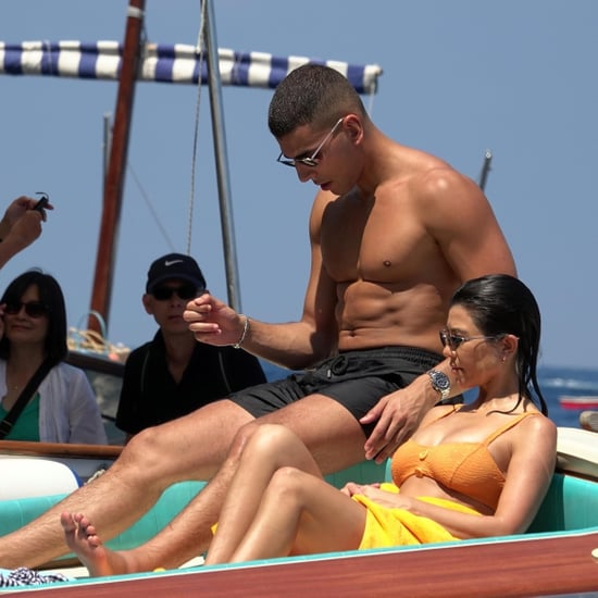 Kourtney Kardashian and Younes Bendjima in Italy June 2018