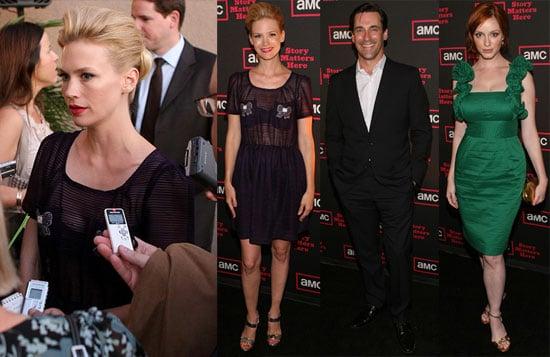 Photos of the Mad Men Cast at a TCA AMC Coctail Reception in LA