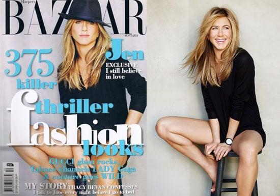 Photos of Jennifer Aniston for Harper's
