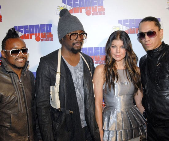 Slide Photo of Fergie and the Black Eyed Peas at Jeepney Music Record Party in LA