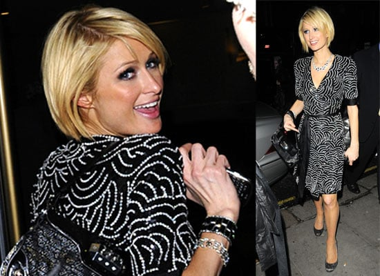 30/01/2009 Paris Hilton in London