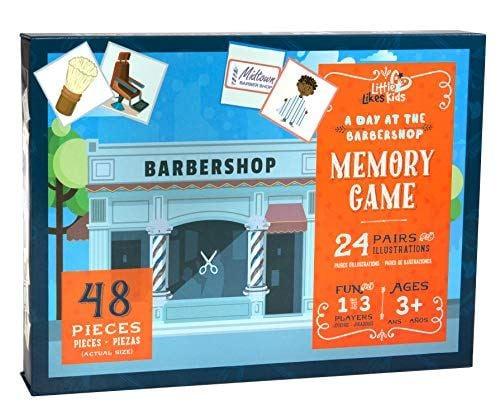 The Barbershop Memory Game