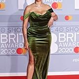 Mahalia at the 2020 BRIT Awards Red Carpet