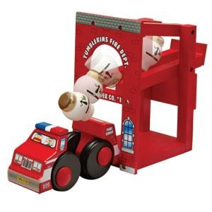 Tumblekins Fire Station Playset
