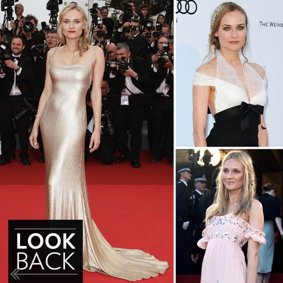 Pictures of Diane Kruger's Best Cannes Film Festival Fashion Moments From Years Past: Red Carpet, Off Duty, On the Yacht!