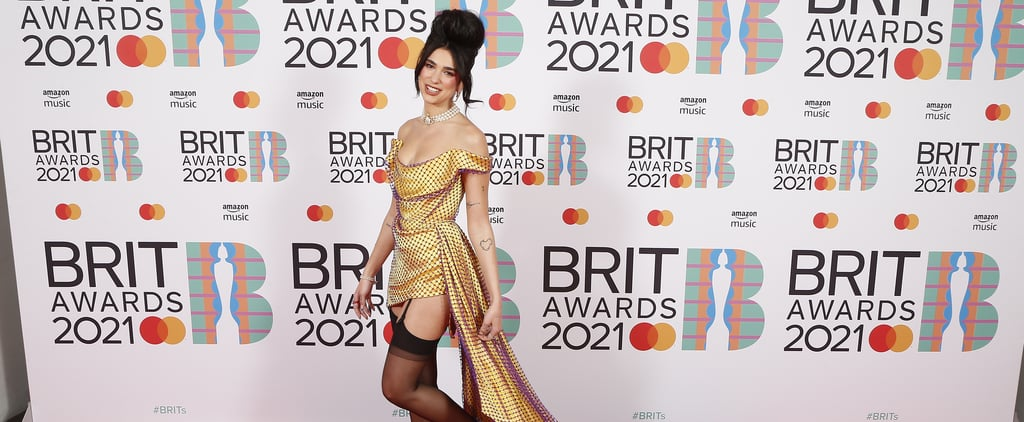 Dua Lipa's Yellow Vivienne Westwood Dress at the 2021 BRITs