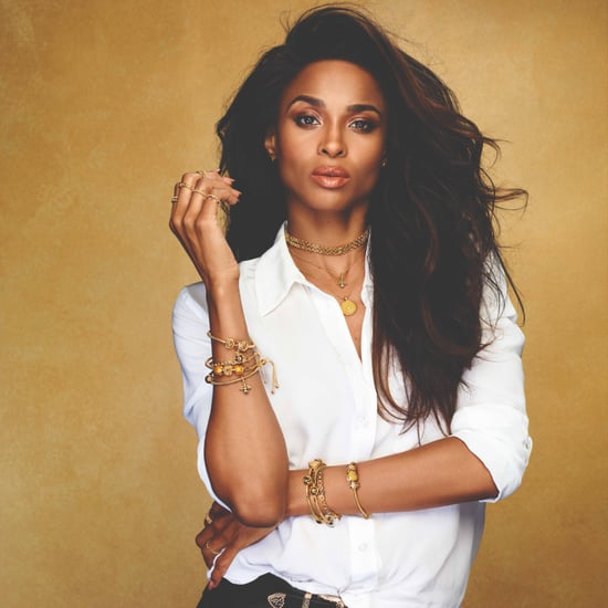 Ciara's Gold Dog Tag Necklace
