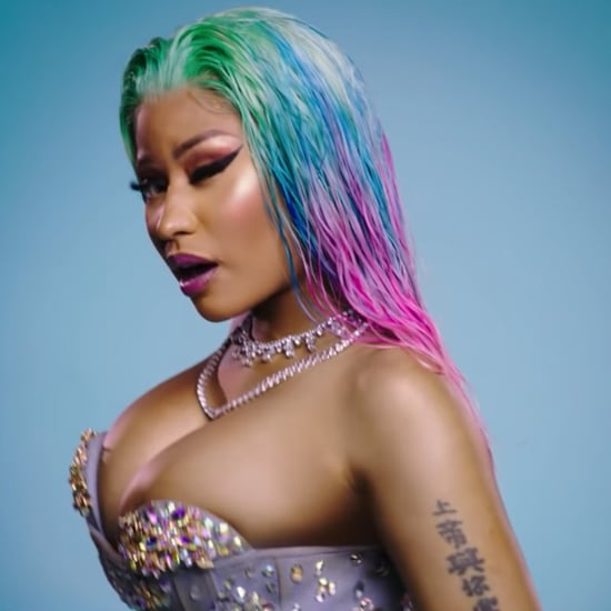 "Nicki Minaj's Hair in ""Barbie Dreams"""