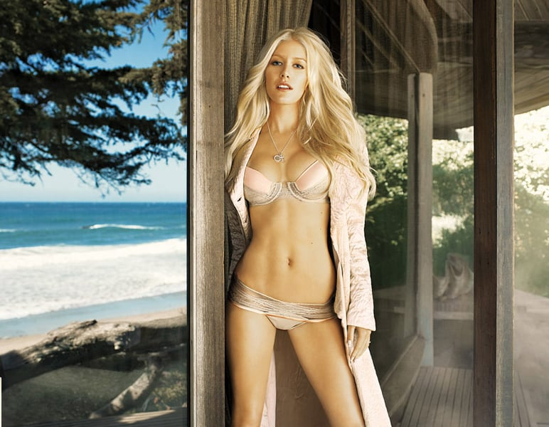 Heidi montag nude pics from playboy
