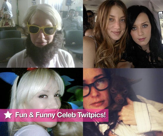 Pictures From Celeb Twitter Accounts Including Katy Perry, Gwen Stefani, Demi Moore, Helen Mirren and More