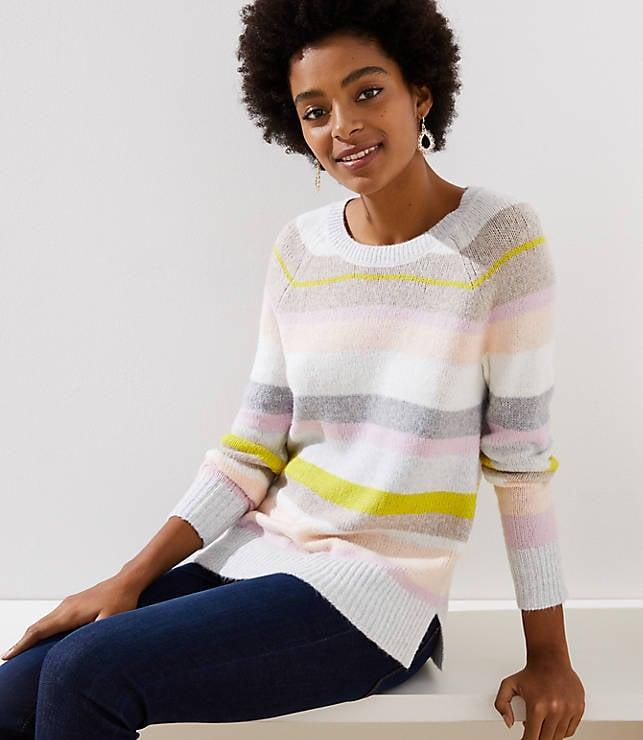 Mixed Stripe Sweater