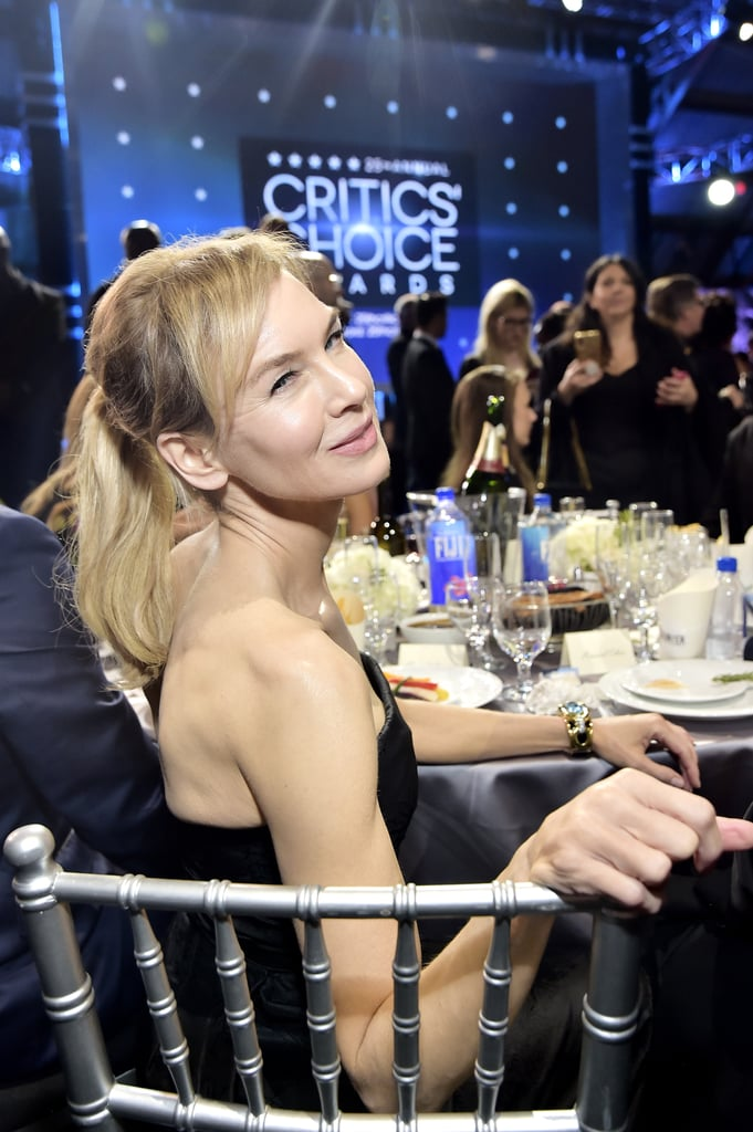 Renee Zellweger at the 2020 Critics' Choice Awards
